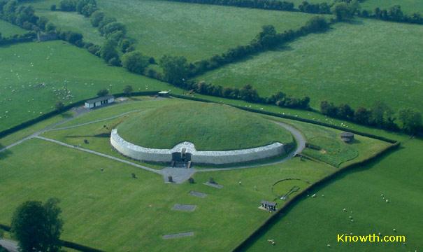 Newgrange Aerial View