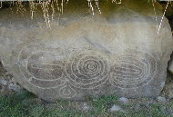 Knowth Kerbstone 5