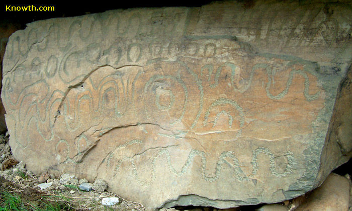 Knowth Kerbstone K78