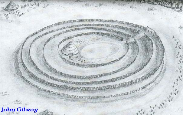 How the groves of Tlachtga may have looked in Celtic times