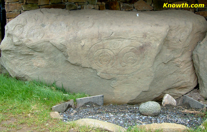 Knowth Kerbstone K73