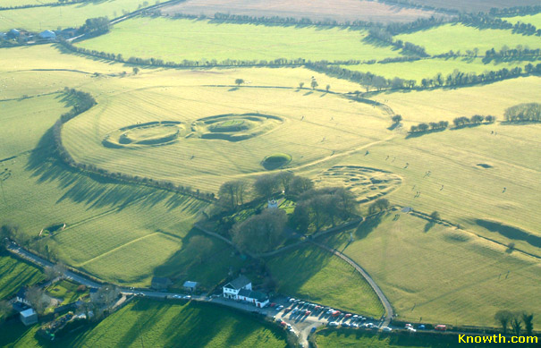 The Hill of Tara, an aerial view from 2004