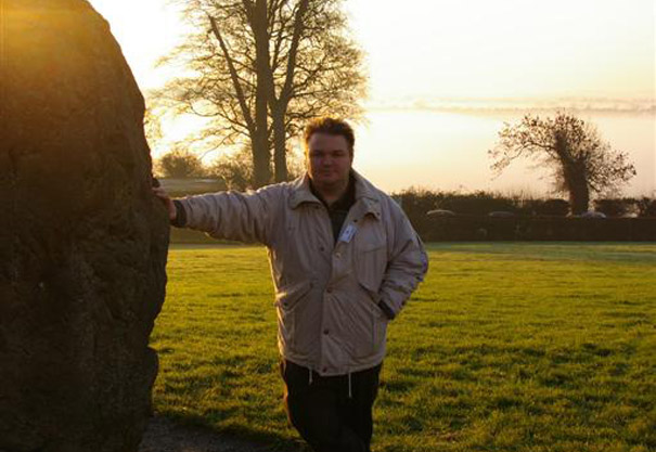 Outside Newgrange